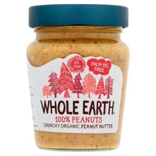 Crema de cacahuete crujiente ecologica y sin aceite de palma