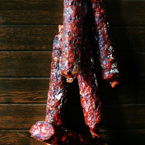 Chorizo-ecológico-ibérico-de bellota-ECOIBÉRICOS-de-jabugo