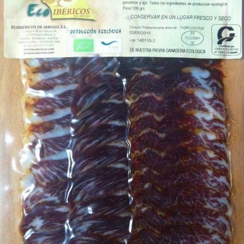 Lomito-de-presa-ecológico-ibérico-de bellota-ECOIBÉRICOS-de-jabugo-lonchas-100g