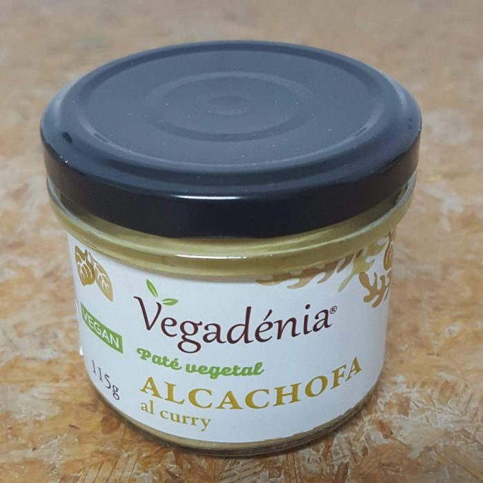 Pate Vegetal Ecologico Alcachofa al Curry Vegadenia
