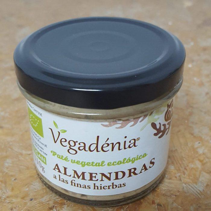 Pate Vegetal Ecologico Almendras Finas Hier