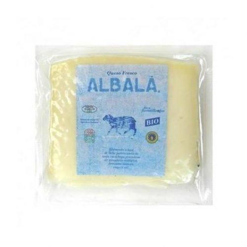 queso manchego fresco ecológico porción