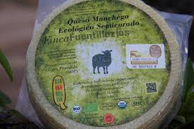queso manchego semicurado ecologico