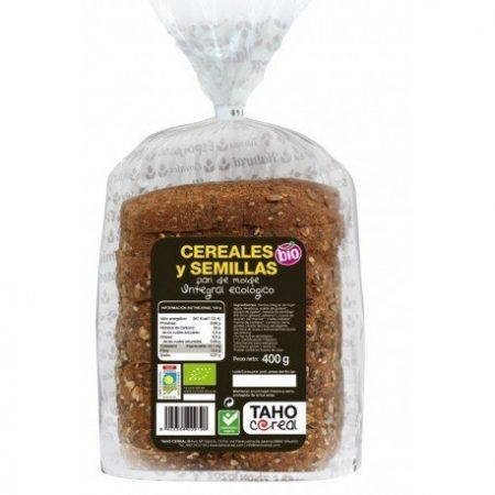 molde integral cereales y semillas ecologico 400 gr taho cereal