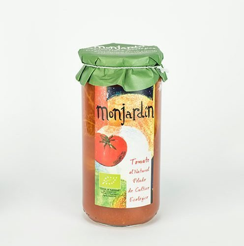tomate entero pelado extra de produccion ecologica