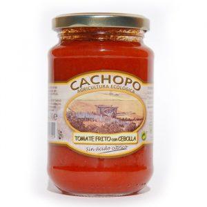 tomate frito con cebolla bio