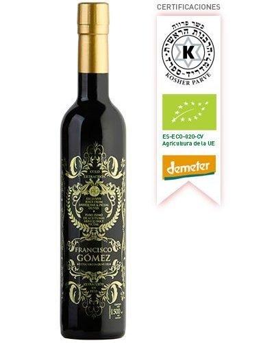 Aceite de Oliva Virgen Extra Biodinamico Premium SERRATA BLACK