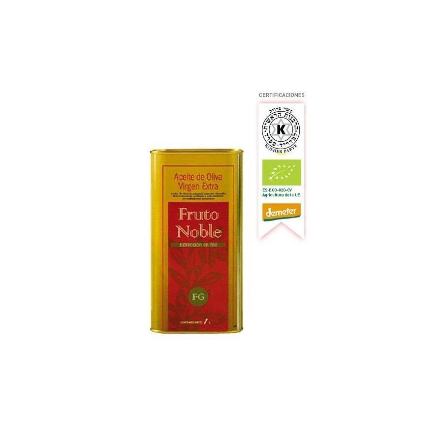 Aceite de Oliva Virgen Extra Ecologico y Biodinamico Lata 1 Litro