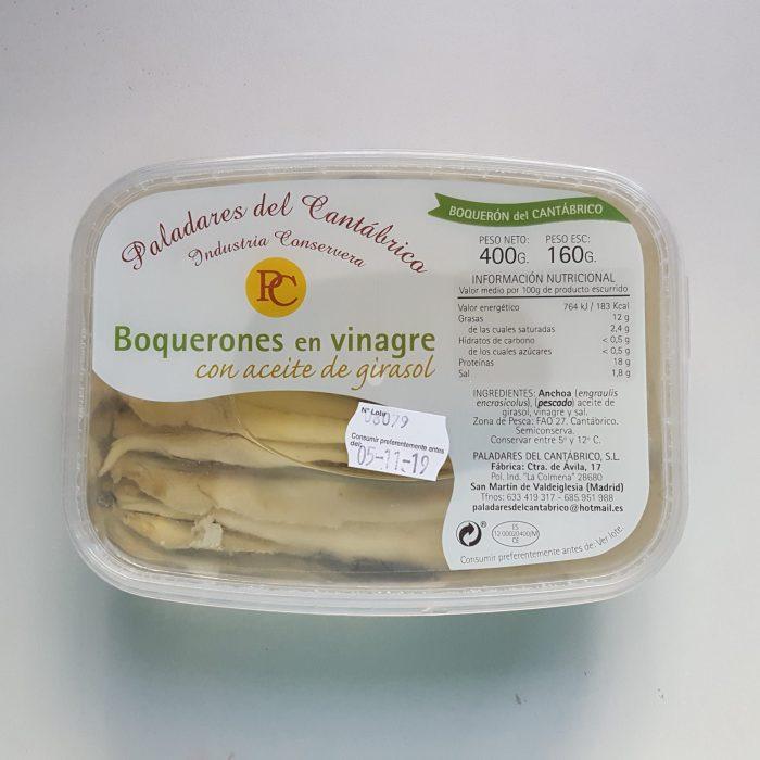 Boquerones en vinagre del Cantabrico de Pesca Sostenible
