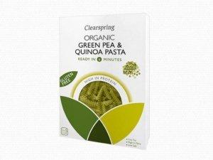 Espirales ecologicas sin gluten de guisante y quinoa