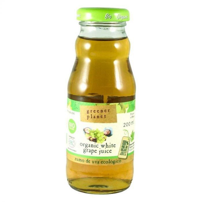 Green Planet zumo de uva blanca 20cl
