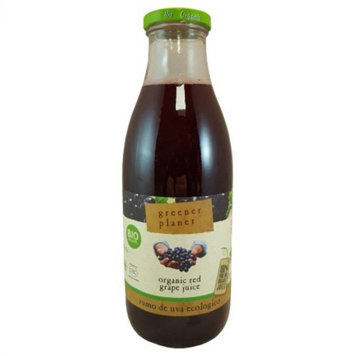 Green Planet zumo de uva tinta 1L