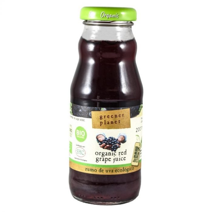 Green Planet zumo de uva tinta 20cl