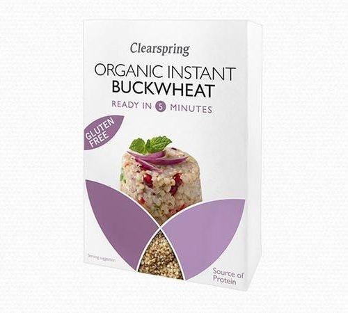 Trigo sarraceno ecologico sin gluten instantaneo