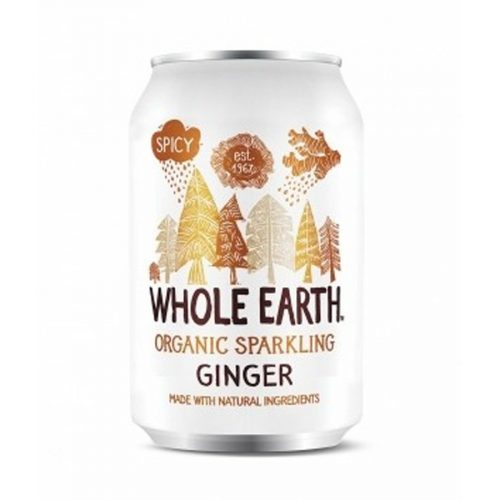 Whole Earth refresco de jengibre sin azucar 33cl
