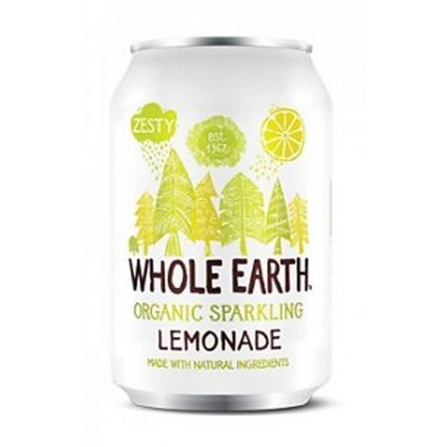 Whole Earth refresco de limon sin azucar 33cl