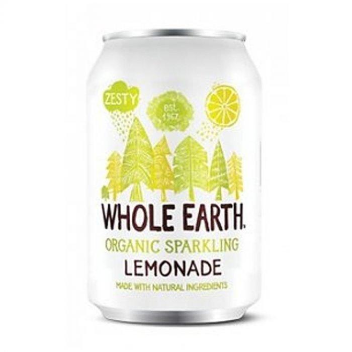 Whole Earth refresco de limon sin azucar 33cl
