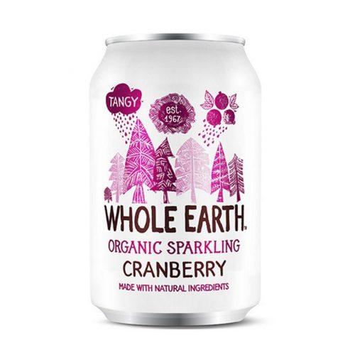 Whole Earth refresco de arandanos sin azucar 33cl
