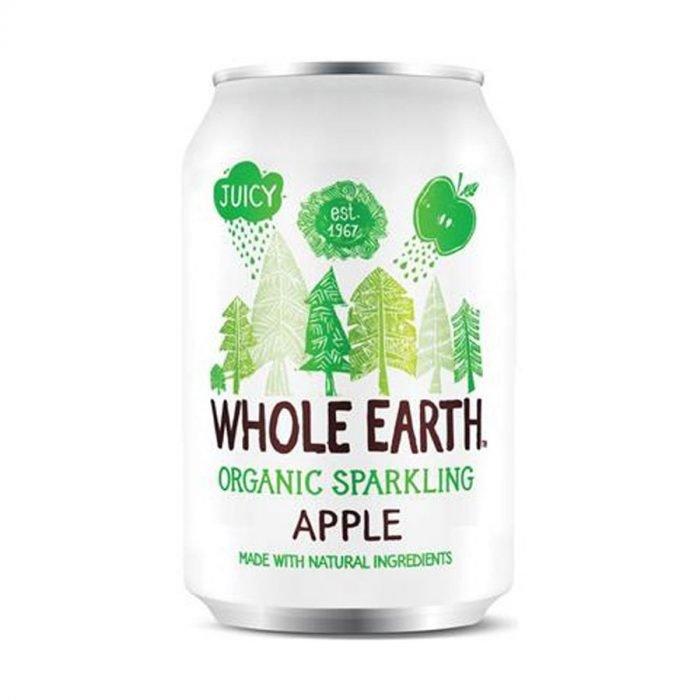 Whole Earth zumo de manzana sin azucar 33cl