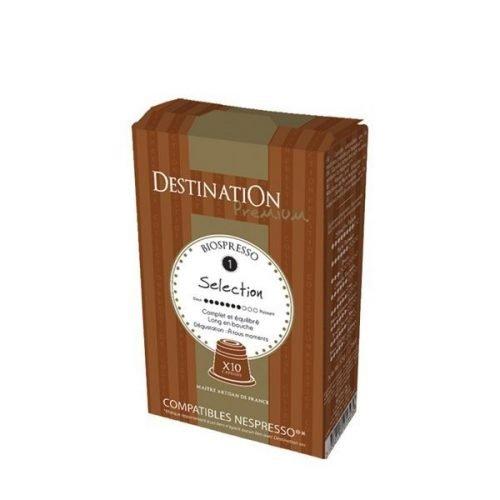 cafe ecologico seleccion destination 10 capsulas