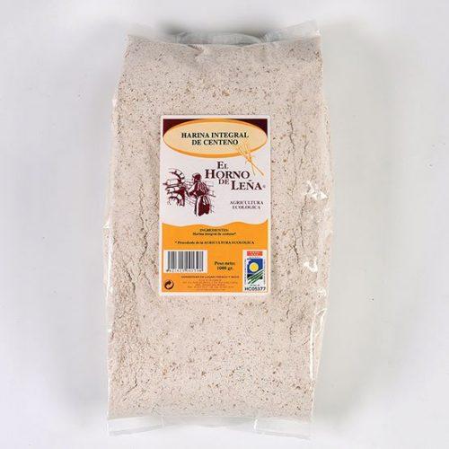 harina integral de centeno ecologica 1kg