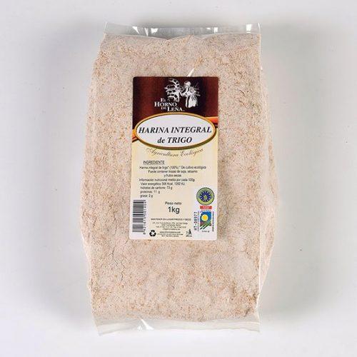 harina integral de trigo ecologica 1kg