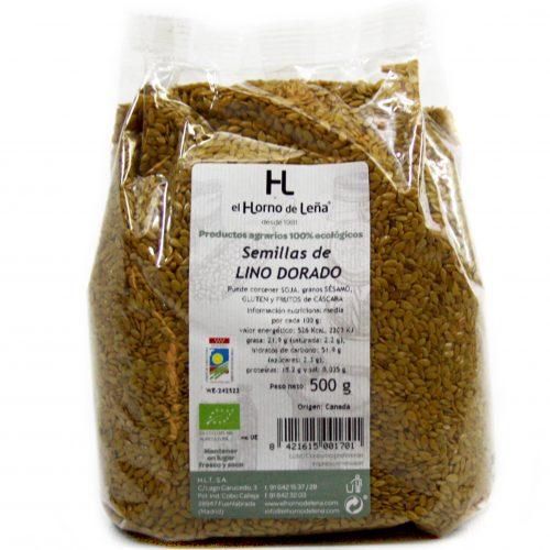 semillas de linaza dorada ecologica