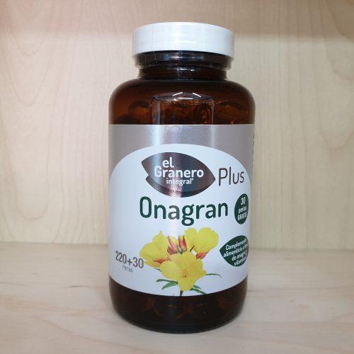 Perlas de Aceite de Onagra 220mas30 El Granero Bio