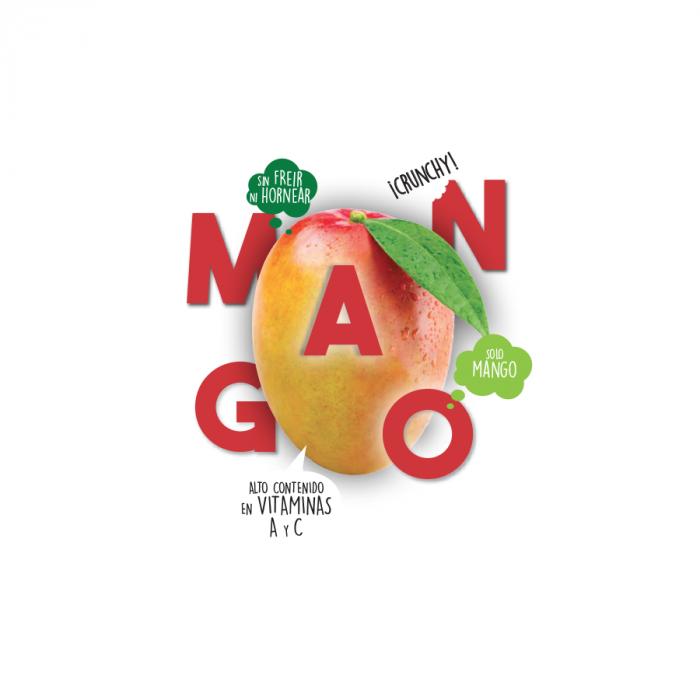 Snack de Mango ecologico deshidratado El Granero Bio