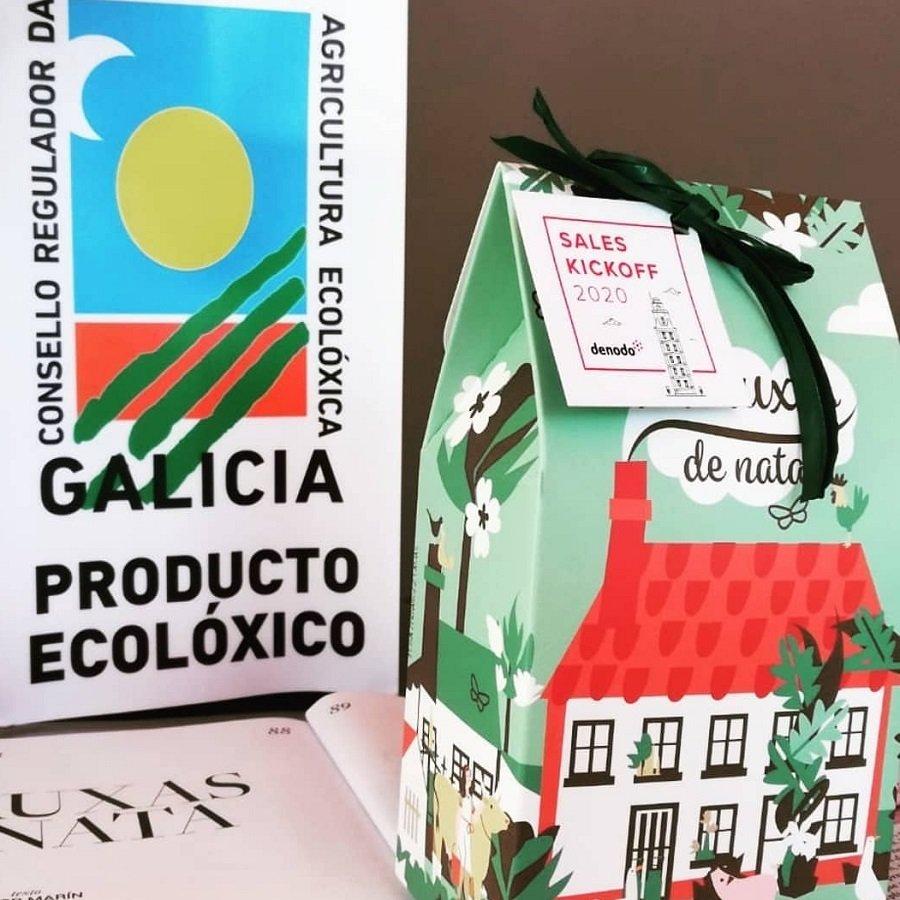 Pastas gallegas de nata ecologica Maruxas 150G