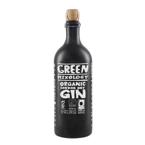 Green Mixology organic london dry gin 70cl