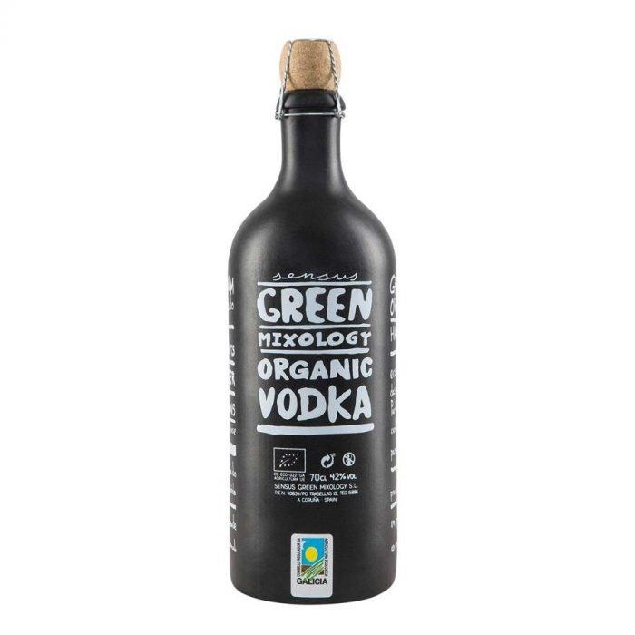 Green Mixology organic vodka 70cl