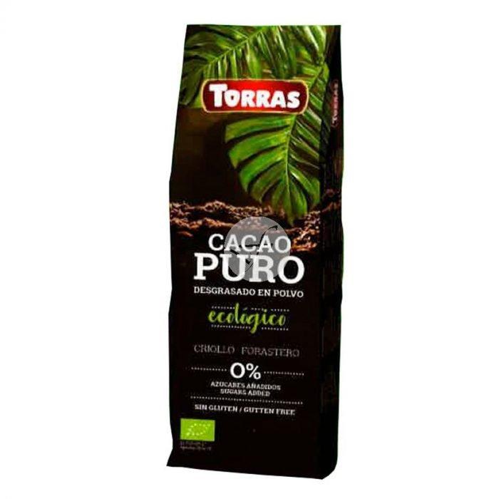 Torras cacao polvo desgrasado bio sin azucar 150gr