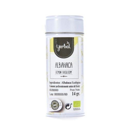 albahaca bio yerbal lata 14g