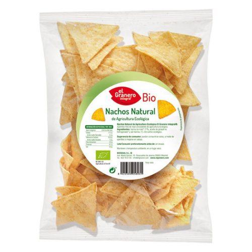 biogran nachos maiz natural 125gr