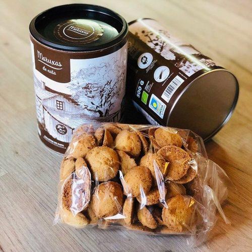 maruxas galletas artesanas con nata gallega 500gr