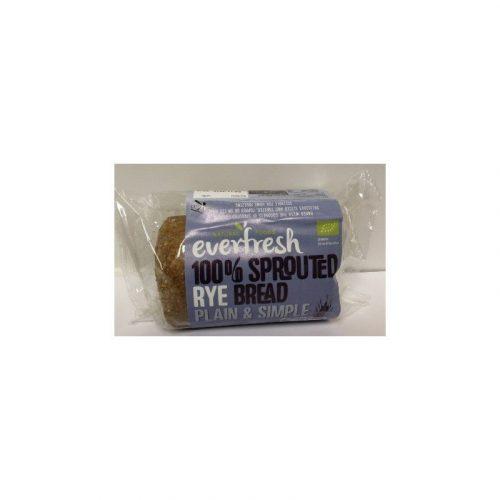pan de centeno ecologico germinado everfresh 400g