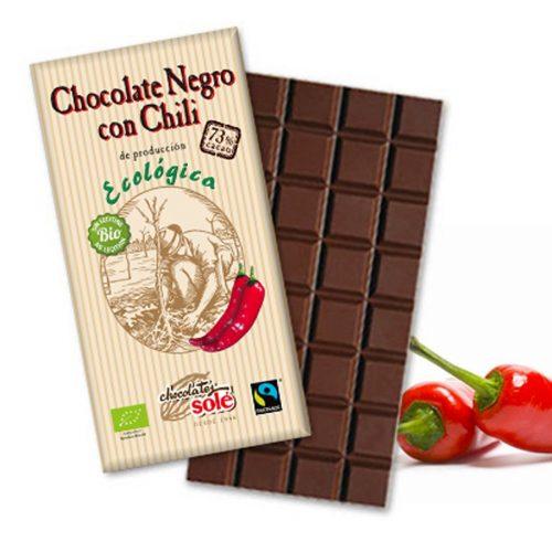 sole chocolate 73 chili 100gr