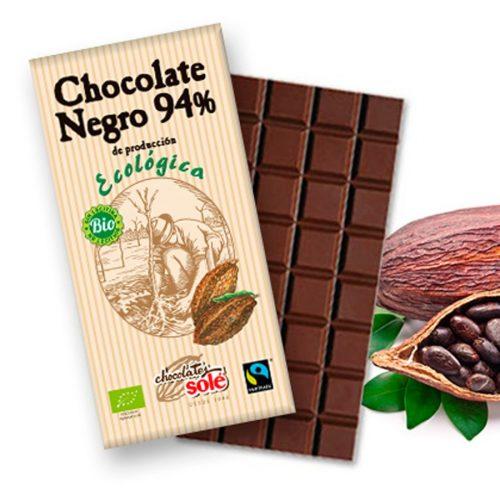sole chocolate negro 94 100gr