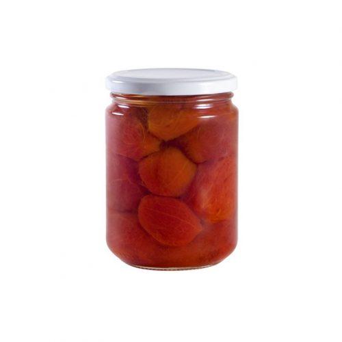 tomate entero pelado ecologico bio 420ml ekotania