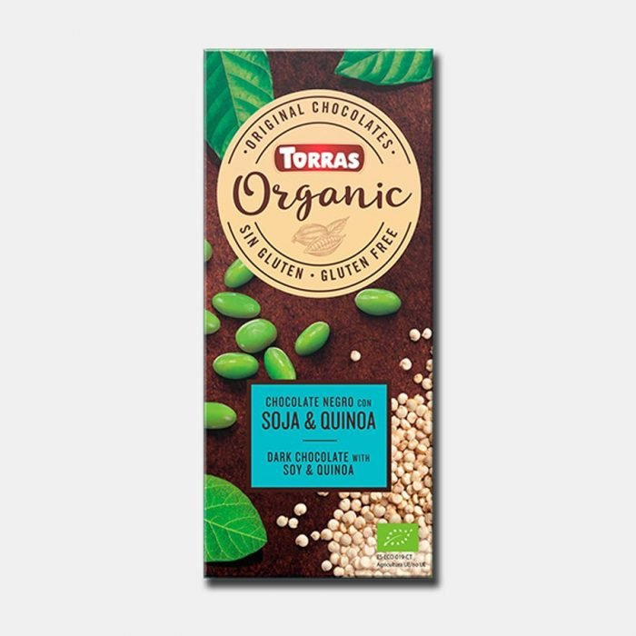 torras chocolate quinoa y soja 100gr