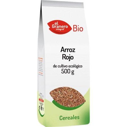 Arroz rojo ecologico el granero bio 500g