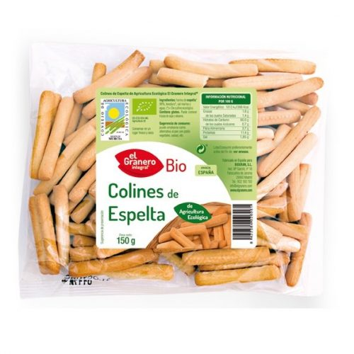 Colines de Espelta ecologicos El Granero Bio 150gr