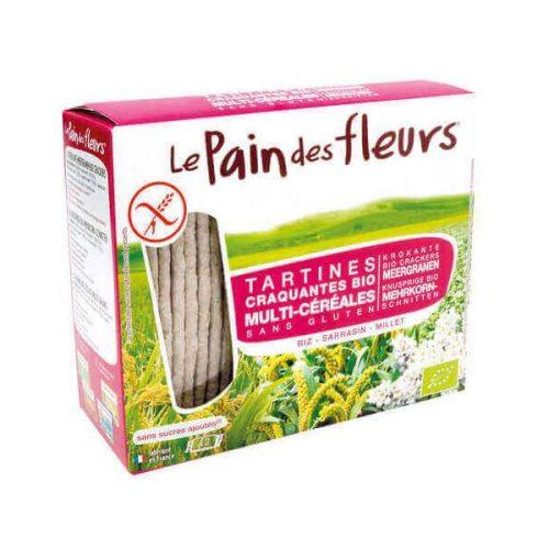 Pan de Flores ecologico trigo sarraceno multicereales sin gluten