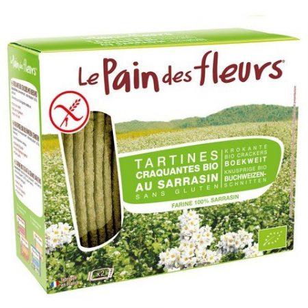 Pan de Flores ecologico trigo sarraceno sin gluten 150g