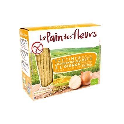 Pan de Flores ecologico trigo sarraceno y cebolla sin gluten