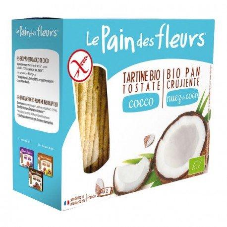 Pan de Flores ecologico trigo sarraceno y coco sin gluten