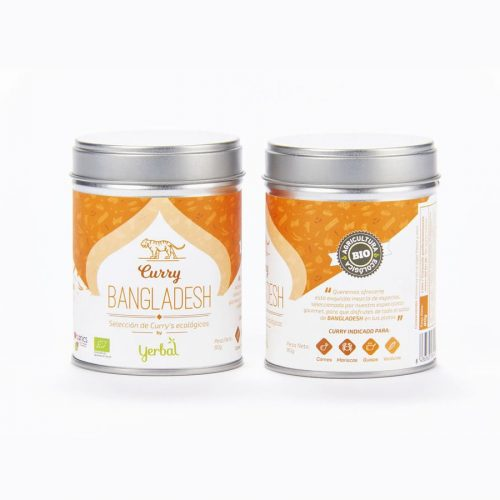 Yerbal curry bangladesh ecologico 80gr