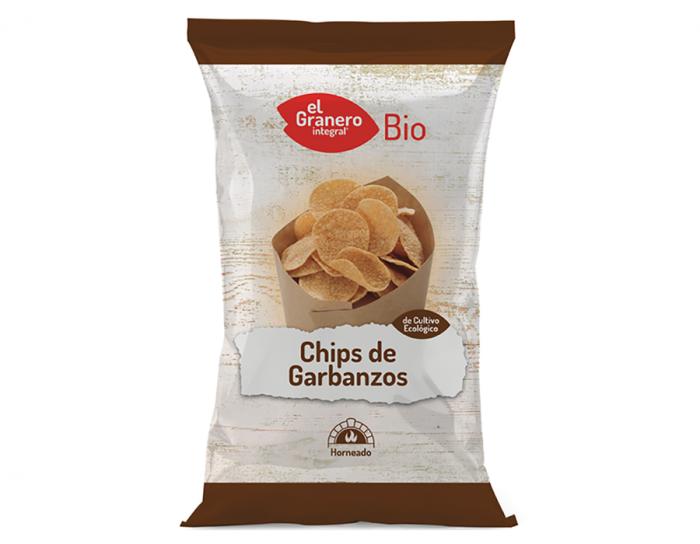 chips de garbanzo ecologico veganoel granero bio 80g