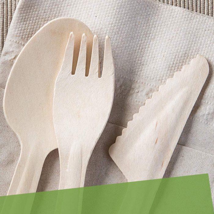 Cubertería Biodegradable